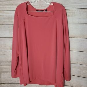 Dennis Basso Pullover Blouse, QVC Size 2X